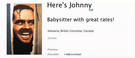 bad linkedin profile