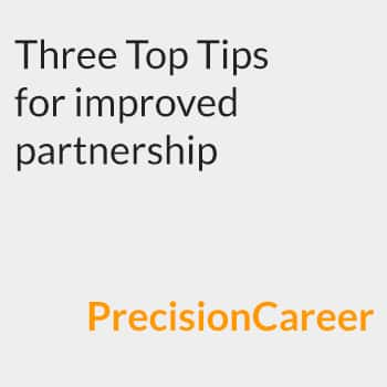 Three top tips for improved partnership