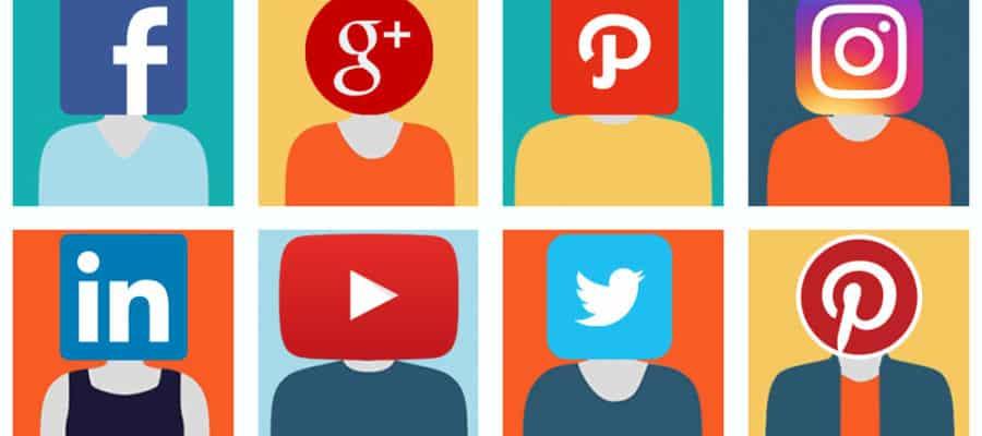 social media faces