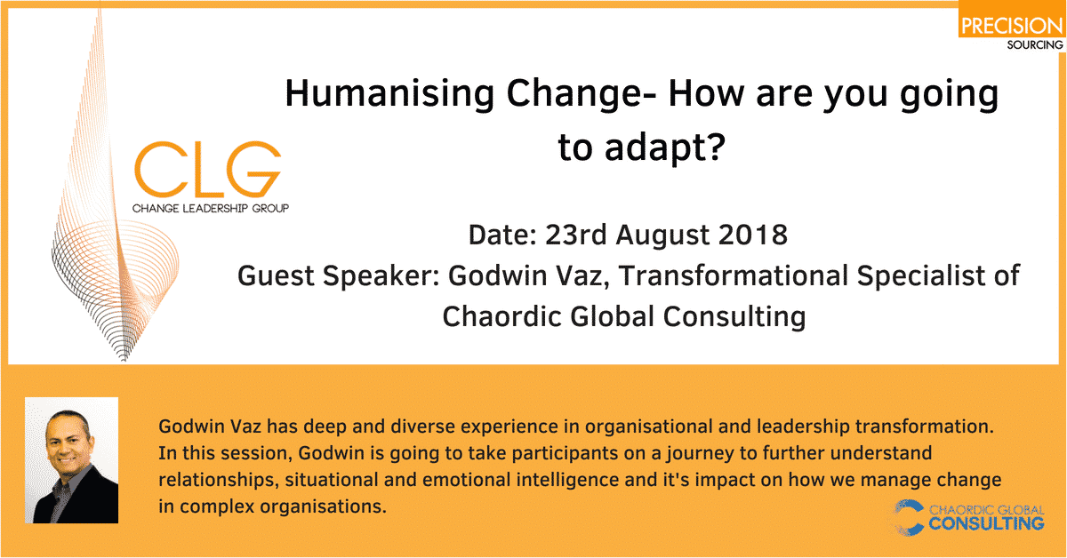Humanising Change – How Are You Going To Adapt