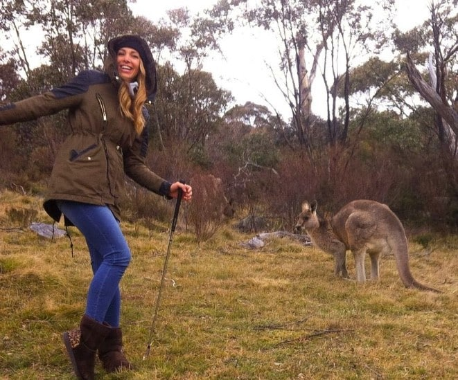kangaroo sighting