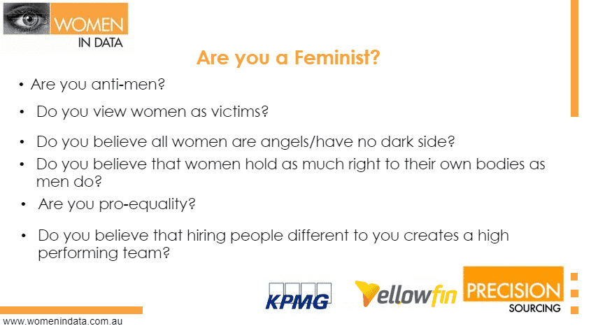 Are you a feminist?